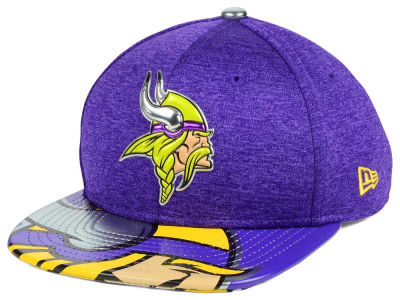 Minnesota Vikings New Era 2017 NFL Kids Draft 9FIFTY Snapback Cap