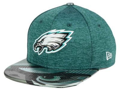 Philadelphia Eagles New Era 2017 NFL Kids Draft 9FIFTY Snapback Cap