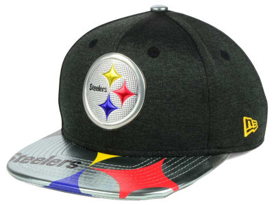 Pittsburgh Steelers New Era 2017 NFL Kids Draft 9FIFTY Snapback Cap