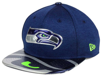 Seattle Seahawks New Era 2017 NFL Kids Draft 9FIFTY Snapback Cap