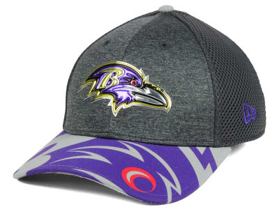 Baltimore Ravens New Era 2017 NFL Draft Fashion 39THIRTY Cap