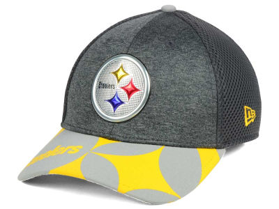 Pittsburgh Steelers New Era 2017 NFL Draft Fashion 39THIRTY Cap