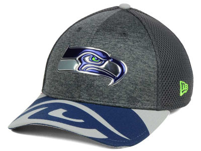 Seattle Seahawks New Era 2017 NFL Draft Fashion 39THIRTY Cap
