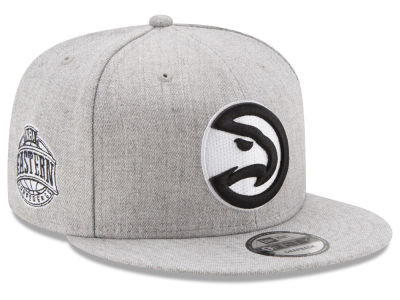 Atlanta Hawks New Era The Heather Boy 9FIFTY Snapback Cap