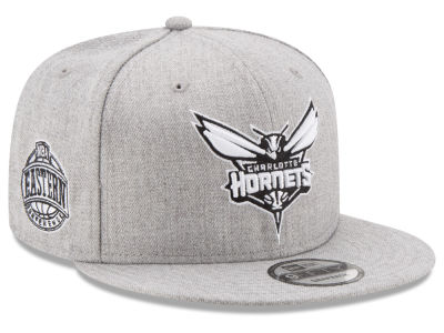 Charlotte Hornets New Era The Heather Boy 9FIFTY Snapback Cap