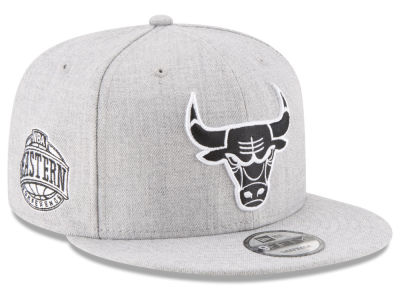 Chicago Bulls New Era The Heather Boy 9FIFTY Snapback Cap
