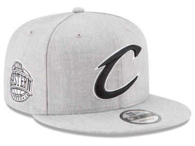 Cleveland Cavaliers New Era The Heather Boy 9FIFTY Snapback Cap