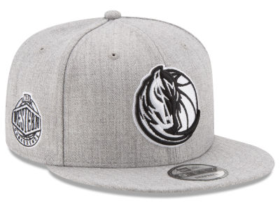 Dallas Mavericks New Era The Heather Boy 9FIFTY Snapback Cap