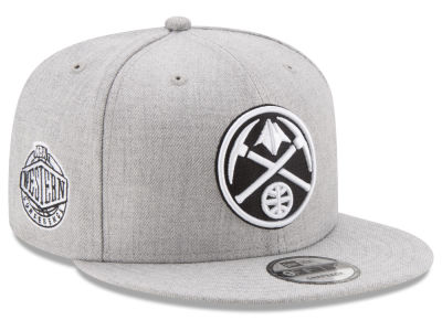 Denver Nuggets New Era The Heather Boy 9FIFTY Snapback Cap