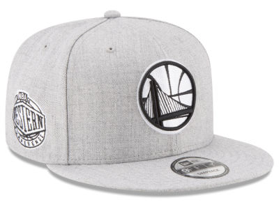 Golden State Warriors New Era The Heather Boy 9FIFTY Snapback Cap