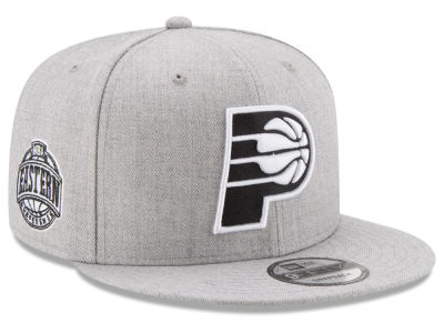 Indiana Pacers New Era The Heather Boy 9FIFTY Snapback Cap
