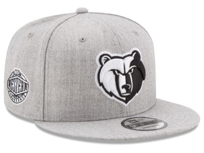 Memphis Grizzlies New Era The Heather Boy 9FIFTY Snapback Cap