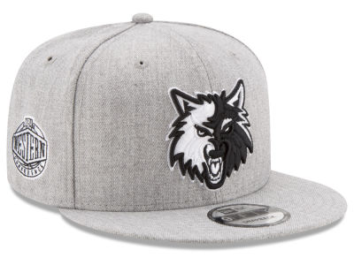 Minnesota Timberwolves New Era The Heather Boy 9FIFTY Snapback Cap