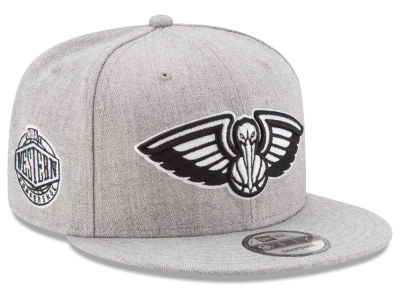 New Orleans Pelicans New Era The Heather Boy 9FIFTY Snapback Cap