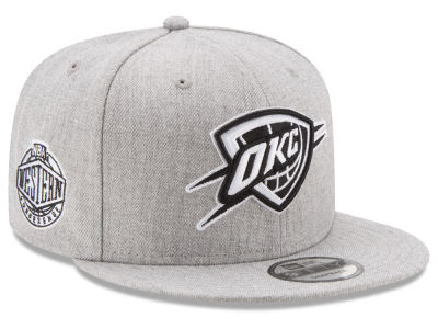 Oklahoma City Thunder New Era The Heather Boy 9FIFTY Snapback Cap