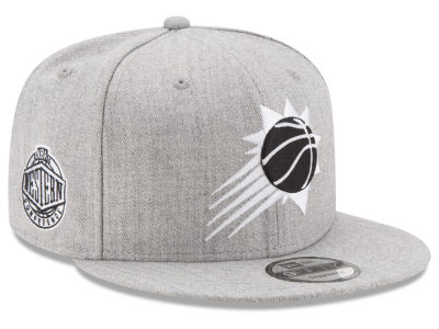 Phoenix Suns New Era The Heather Boy 9FIFTY Snapback Cap