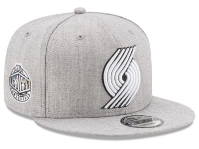 Portland Trail Blazers New Era The Heather Boy 9FIFTY Snapback Cap