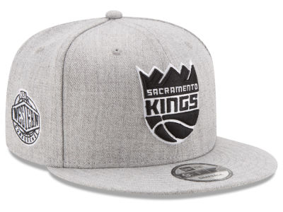 Sacramento Kings New Era The Heather Boy 9FIFTY Snapback Cap