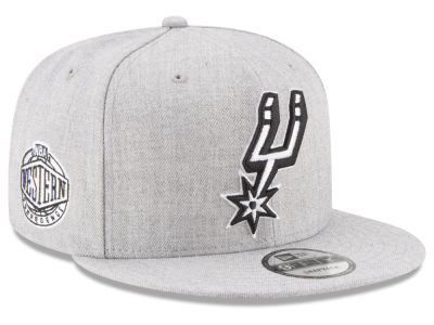 San Antonio Spurs New Era The Heather Boy 9FIFTY Snapback Cap