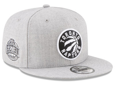 Toronto Raptors New Era The Heather Boy 9FIFTY Snapback Cap
