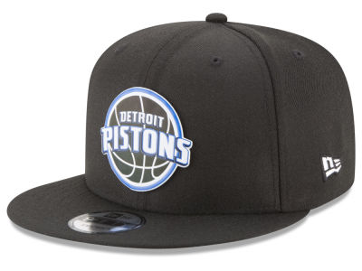 Detroit Pistons New Era NBA Dual Flect 9FIFTY Snapback Cap