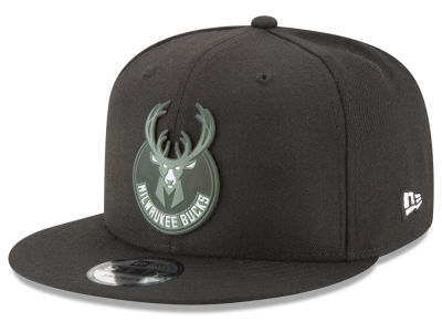 Milwaukee Bucks New Era NBA Dual Flect 9FIFTY Snapback Cap