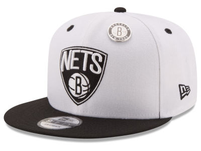 Brooklyn Nets New Era NBA Pintastic 9FIFTY Snapback Cap