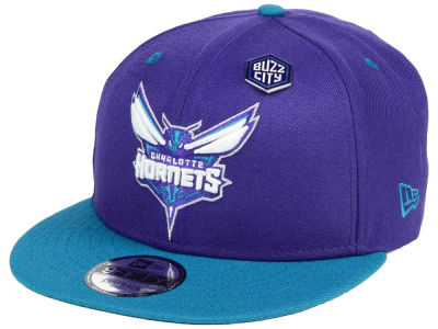 Charlotte Hornets New Era NBA Pintastic 9FIFTY Snapback Cap