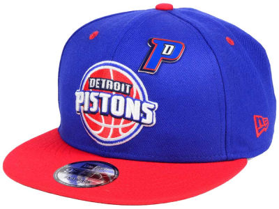 Detroit Pistons New Era NBA Pintastic 9FIFTY Snapback Cap