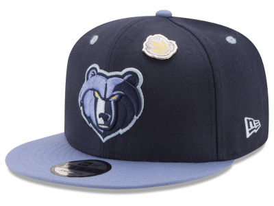 Memphis Grizzlies New Era NBA Pintastic 9FIFTY Snapback Cap