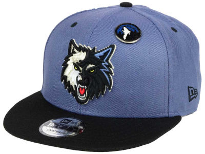 Minnesota Timberwolves New Era NBA Pintastic 9FIFTY Snapback Cap