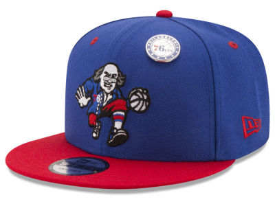 Philadelphia 76ers New Era NBA Pintastic 9FIFTY Snapback Cap