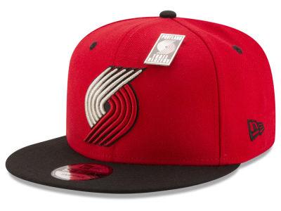 new products b608a 14109 Portland Trail Blazers New Era NBA Pintastic 9FIFTY Snapback Cap