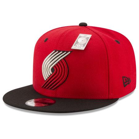 Portland Trail Blazers New Era NBA Pintastic 9FIFTY Snapback Cap