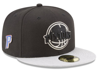 Detroit Pistons New Era NBA Pintasic 59FIFTY Cap