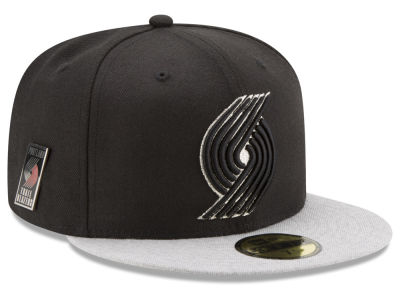 Portland Trail Blazers New Era NBA Pintasic 59FIFTY Cap