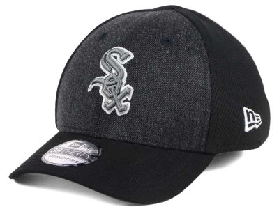 Chicago White Sox New Era MLB Jr Black Heathered 39THIRTY Cap