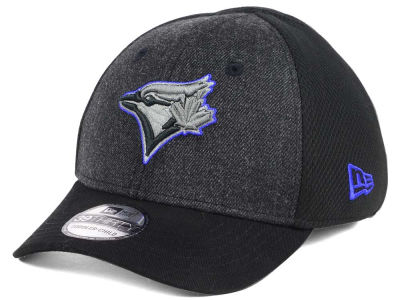 Toronto Blue Jays New Era MLB Jr Black Heathered 39THIRTY Cap