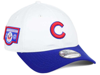 Chicago Cubs New Era MLB Coop Banner Patch 9TWENTY Cap