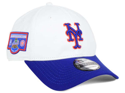 New York Mets New Era MLB Coop Banner Patch 9TWENTY Cap