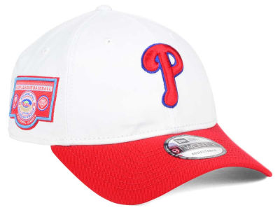 Philadelphia Phillies New Era MLB Coop Banner Patch 9TWENTY Strapback Cap