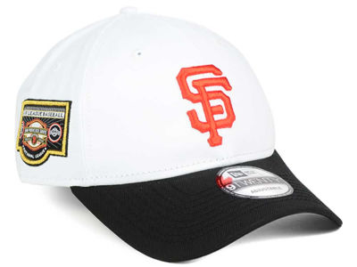 San Francisco Giants New Era MLB Coop Banner Patch 9TWENTY Strapback Cap