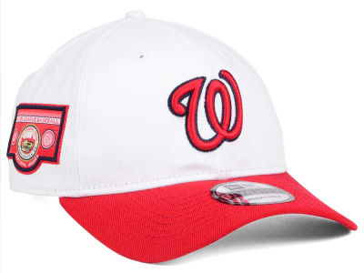 Washington Nationals New Era MLB Coop Banner Patch 9TWENTY Cap