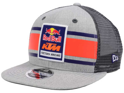 Red Bull Red Bull Crown Stripe Trucker Cap