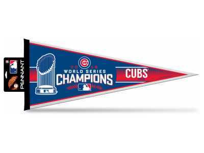 Chicago Cubs 2016 World Series Champs Pennant 12x30