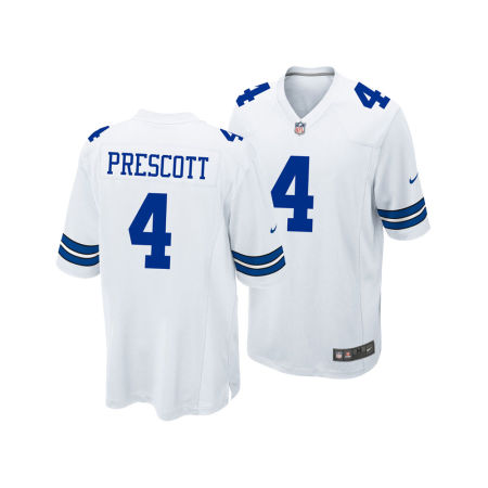 Dallas Cowboys Dak Prescott Nike NFL Men's Game Jersey