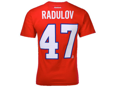 Montreal Canadiens Alexander Radulov Reebok NHL CN Player T-Shirt