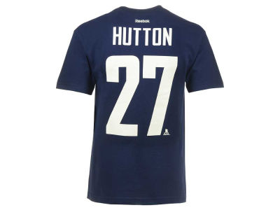Vancouver Canucks Ben Hutton Reebok NHL CN Player T-Shirt