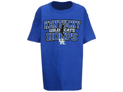 Kentucky Wildcats J America NCAA Youth Straight Hoops T-Shirt