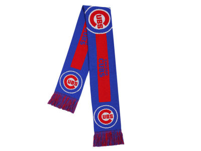 Chicago Cubs Acrylic Knit Big Logo Scarf